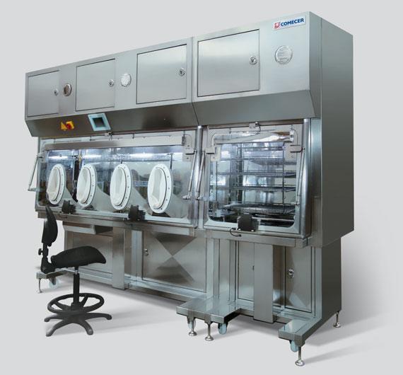 MS&TI Isolatore modulare per test di sterilità