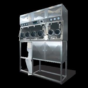 Dispensing-Isolator-glove-box-system