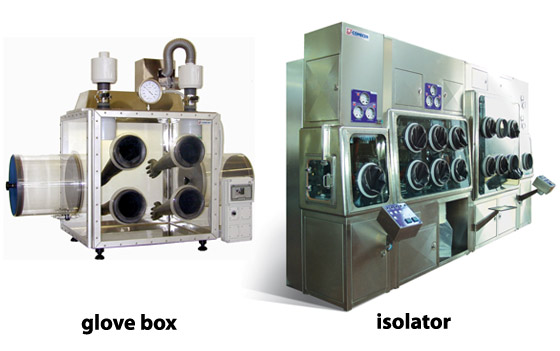 Glove Box and Isolator Examples