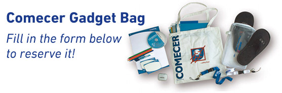 Comecer Gadget Bag - fill in the form to reserve it