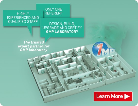 1MP The Trusted Expert Partner for GMP Laboratory