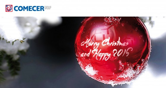 Merry Christmas and Happy 2015 from Comecer