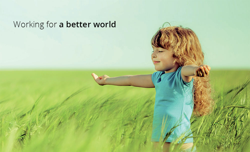 sustainability-working for a better world