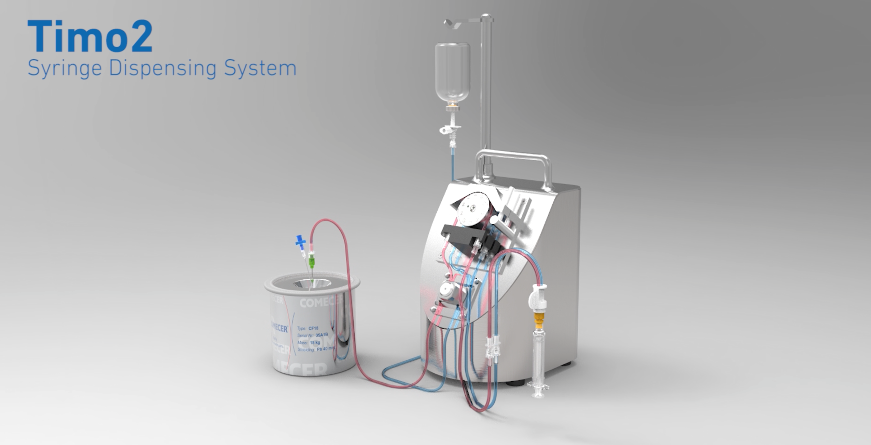TIMO 2 - Syringe Dispensing System for Nuclear Medicine Departments