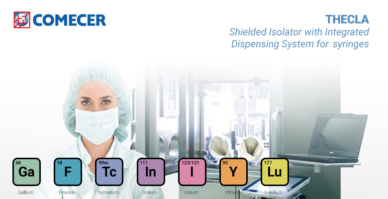 THECLA - Shielded isolator with integrated dispensing system