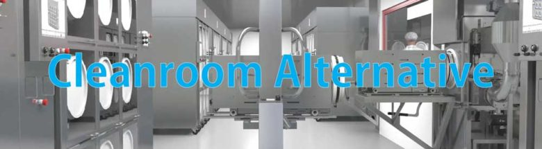 Cleanroom Alternative Isolator Glovebox