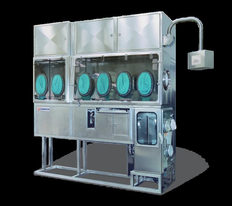 HAPI Isolators for transfer and dispensing