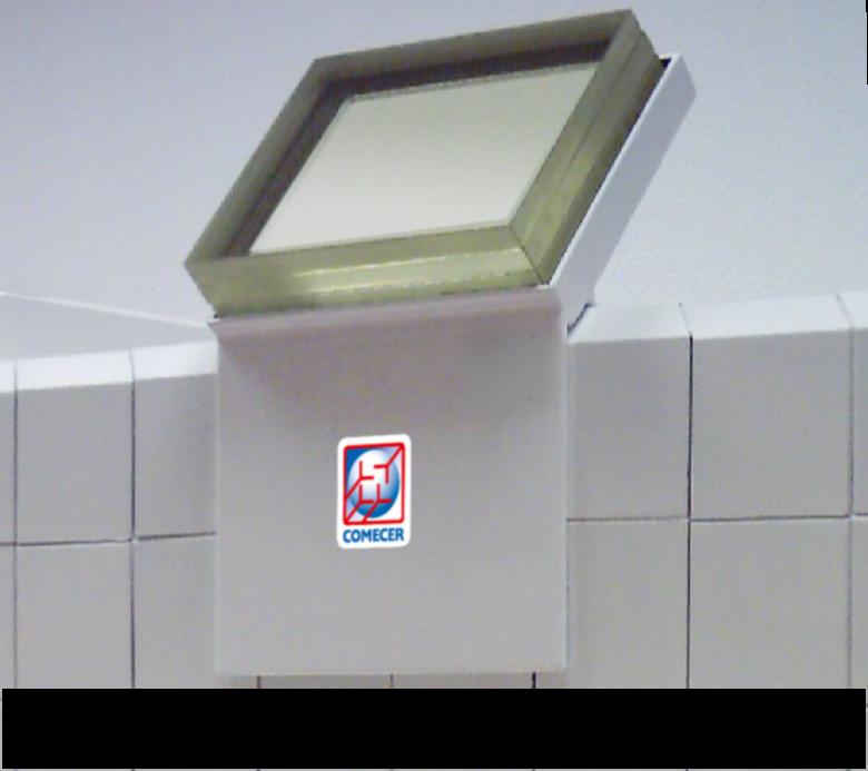 Lead-Glass-Barrier