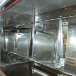 Laminar air flow working chamber