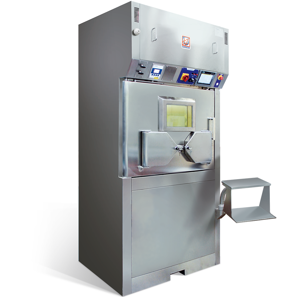 MANUELA - Shielded Laminar Flow Isolator for Nuclear Medicine