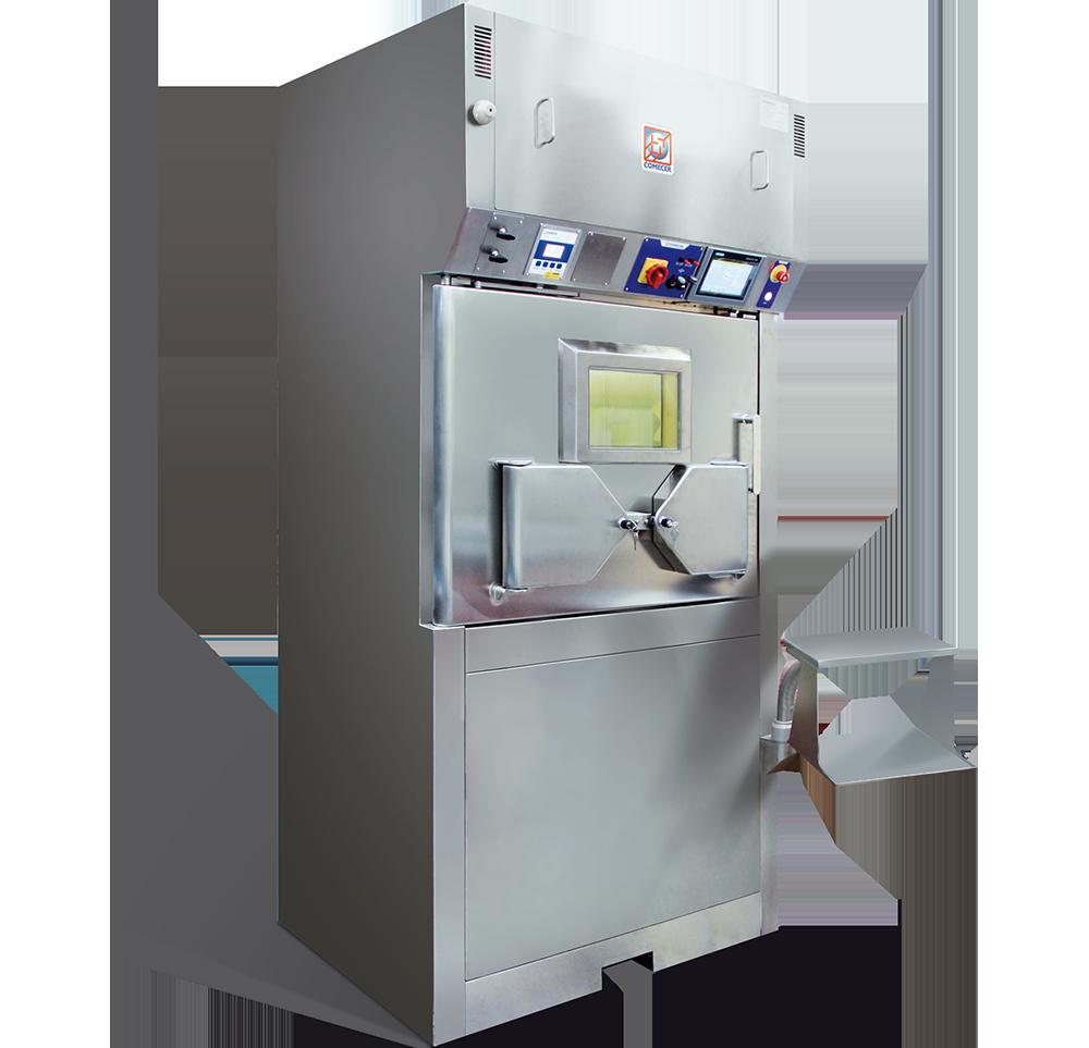MANUELA - Shielded Laminar Flow Isolator for Nuclear Medicine
