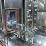 Material transfer tray