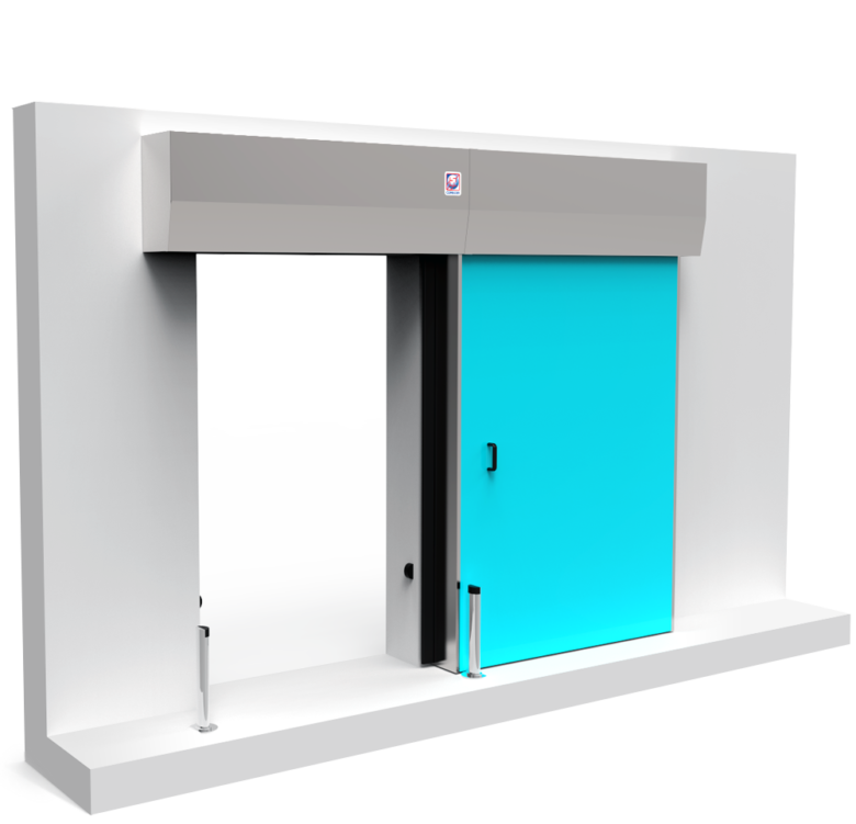 SMF - Bunker Sliding Shielded Door