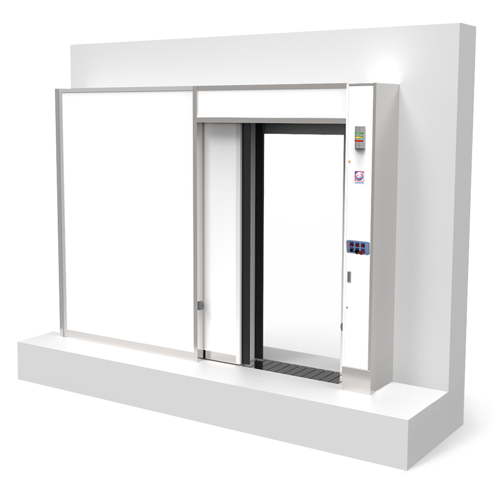 SPM - Sliding Shielded Door With Movable Threshold