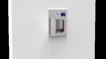 BU-ID - Shielded passthrough with interlocked doors