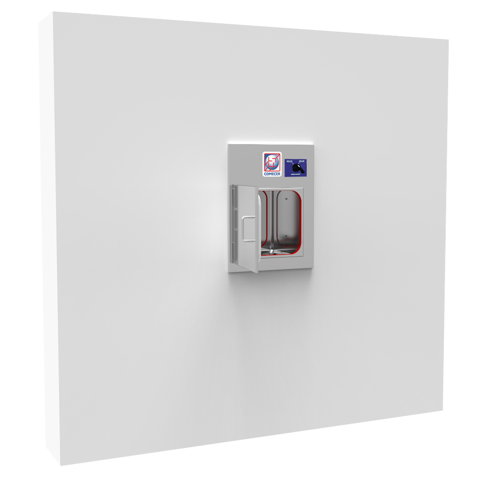 BU-ID - Shielded passthrough with interlocked doors