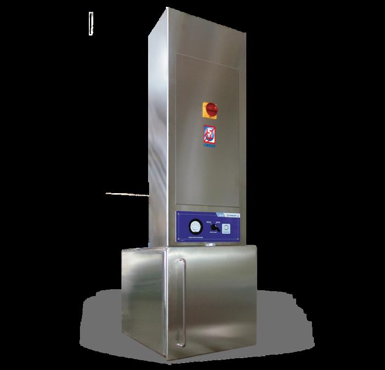 BU-IV Series - Ventilated passthrough with interlocked doors