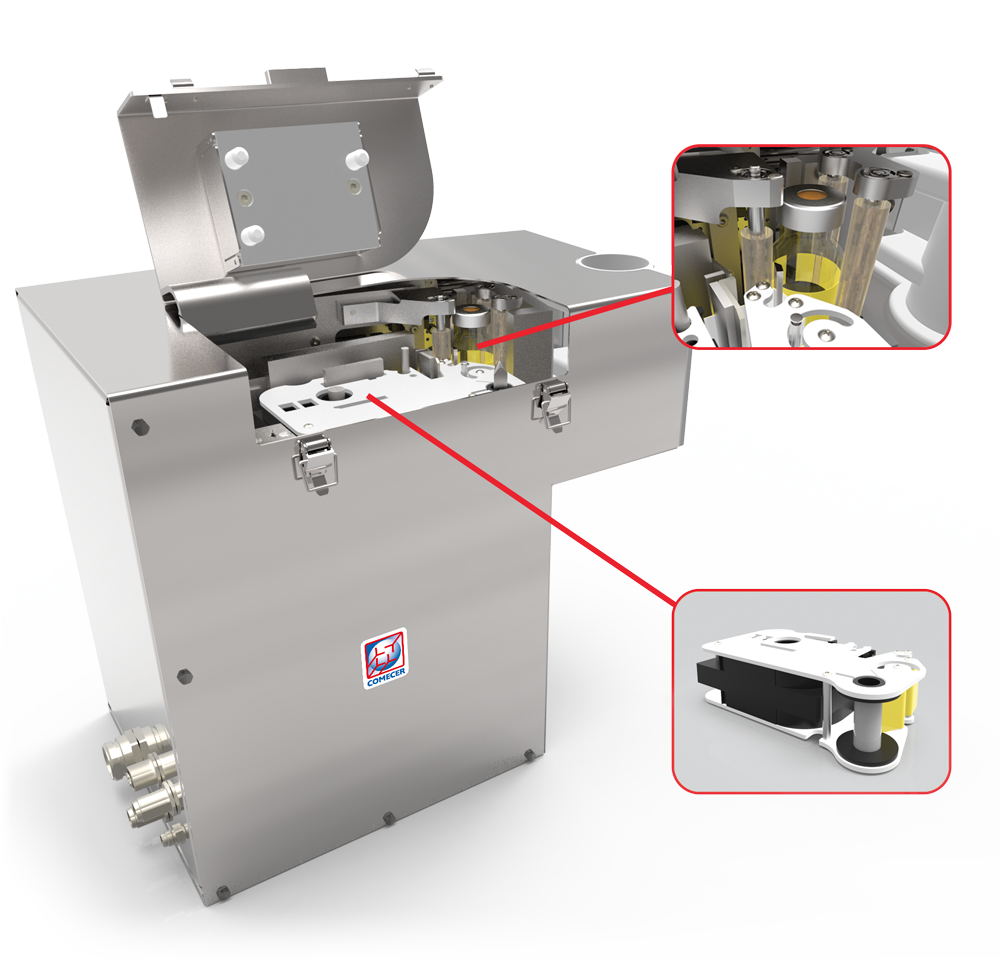 E-LABEL - Automatic vial labelling system