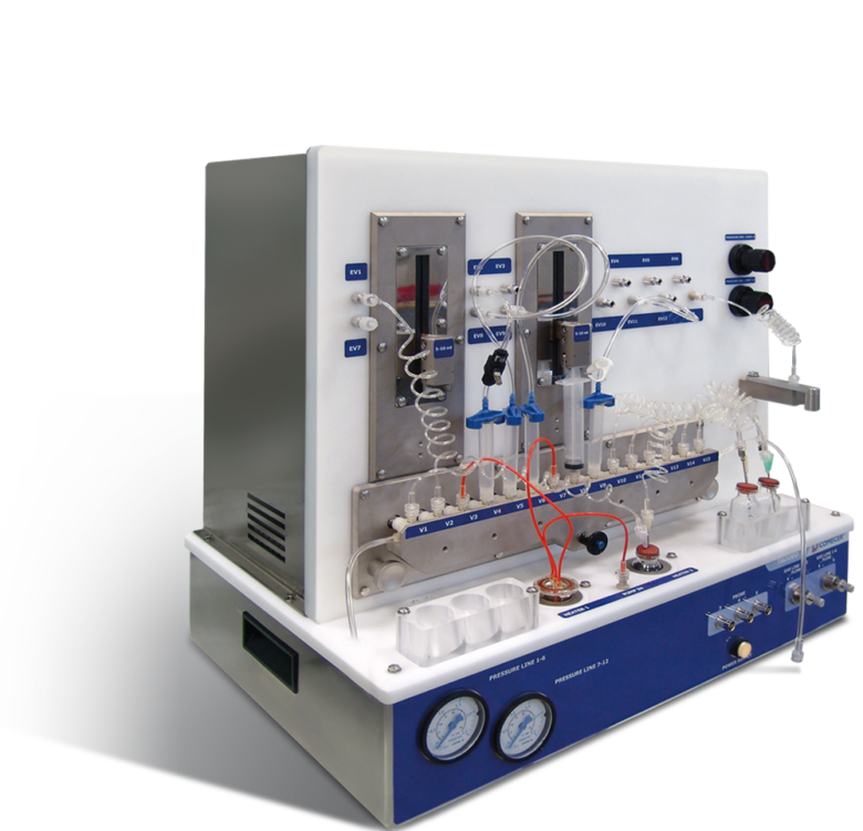 Synthesis Module for radiopharmaceuticals
