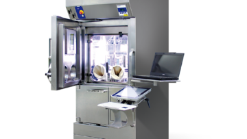 THECLA - Shielded Isolator with Integrated Dispensing System for Syringes