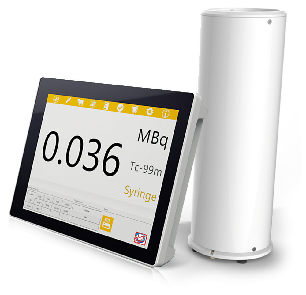 VDC-606 - Touch Screen Dose Calibrator