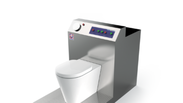 WDL - Shielded WC for disposal of organic radioactive waste