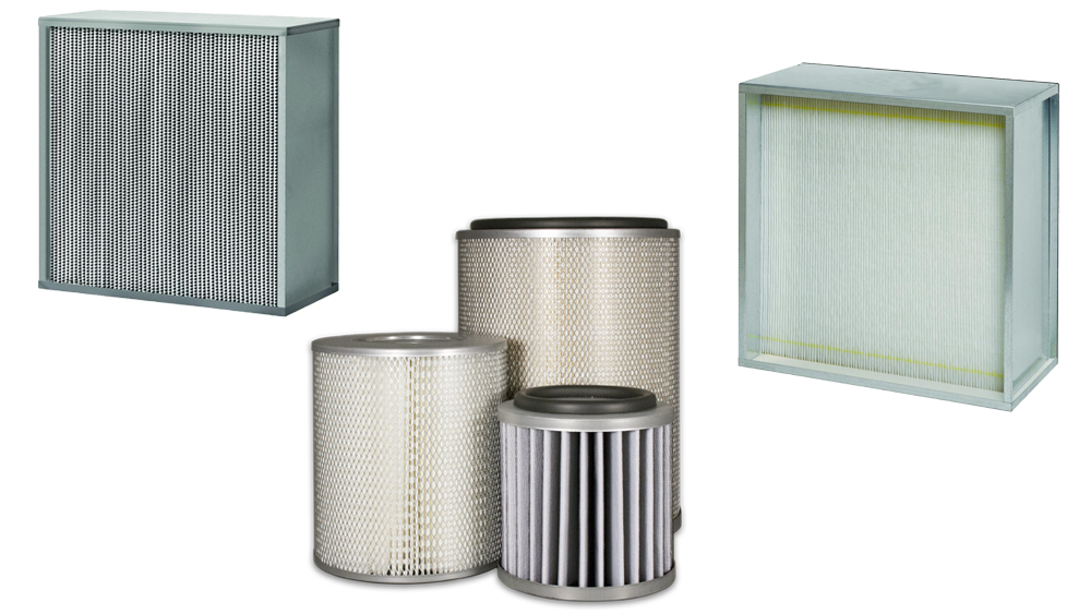 Hepa and ulpa filters