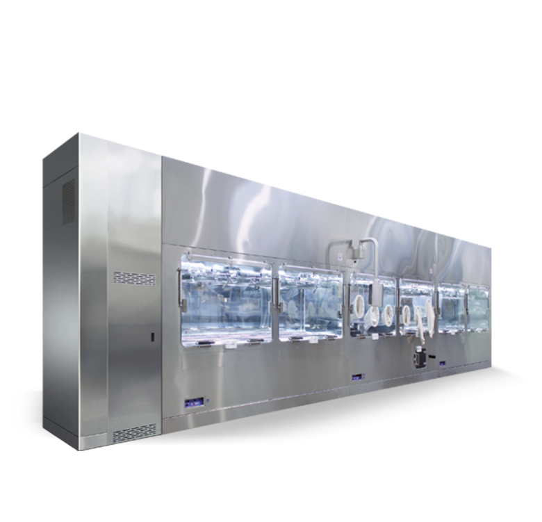 Custom pharma barrier system isolator