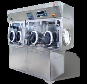 Dispensing Isolator for dispensing process