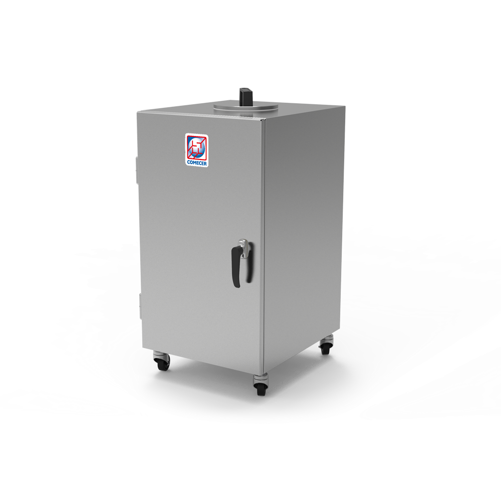 WC-300 - Shielded waste container