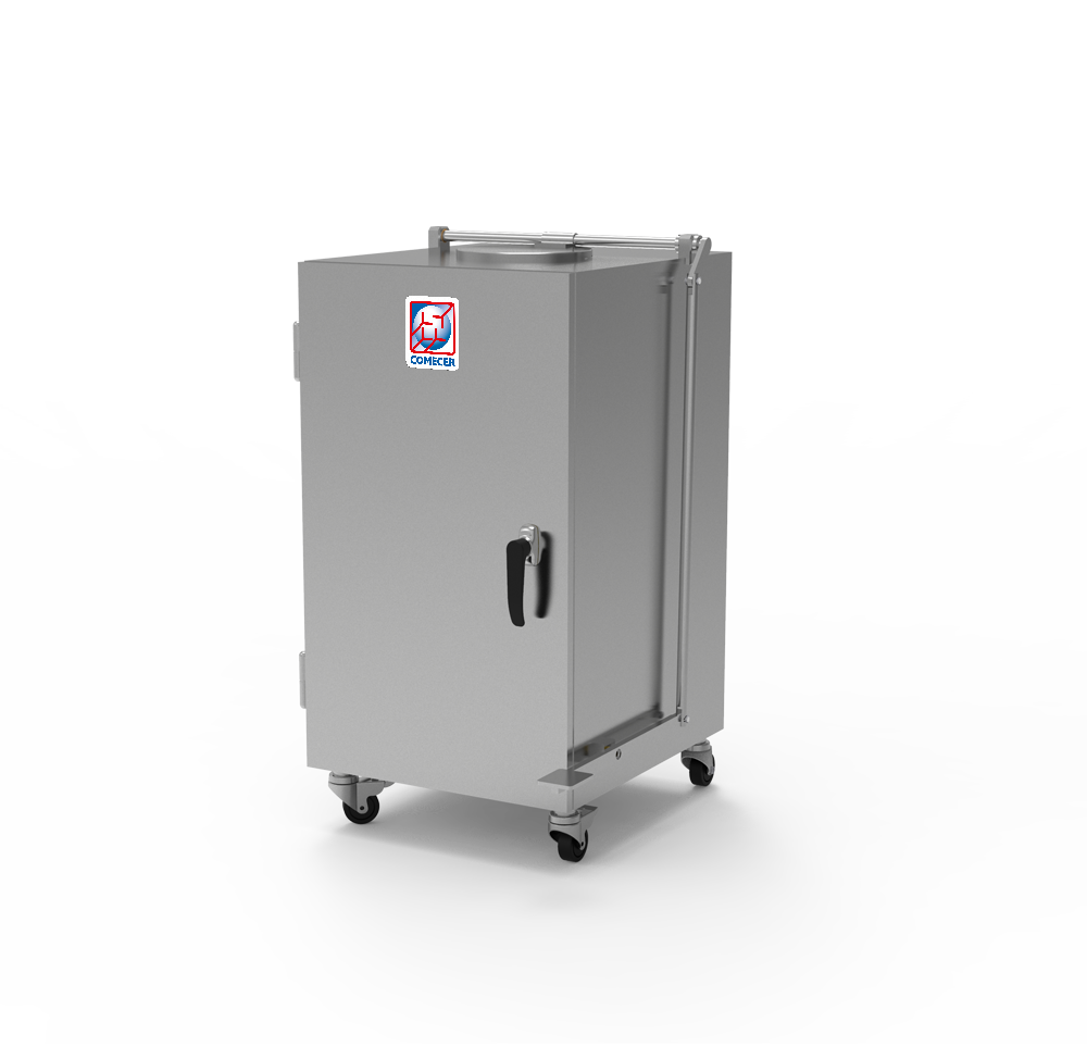 WC-303 - Shielded movable waste container