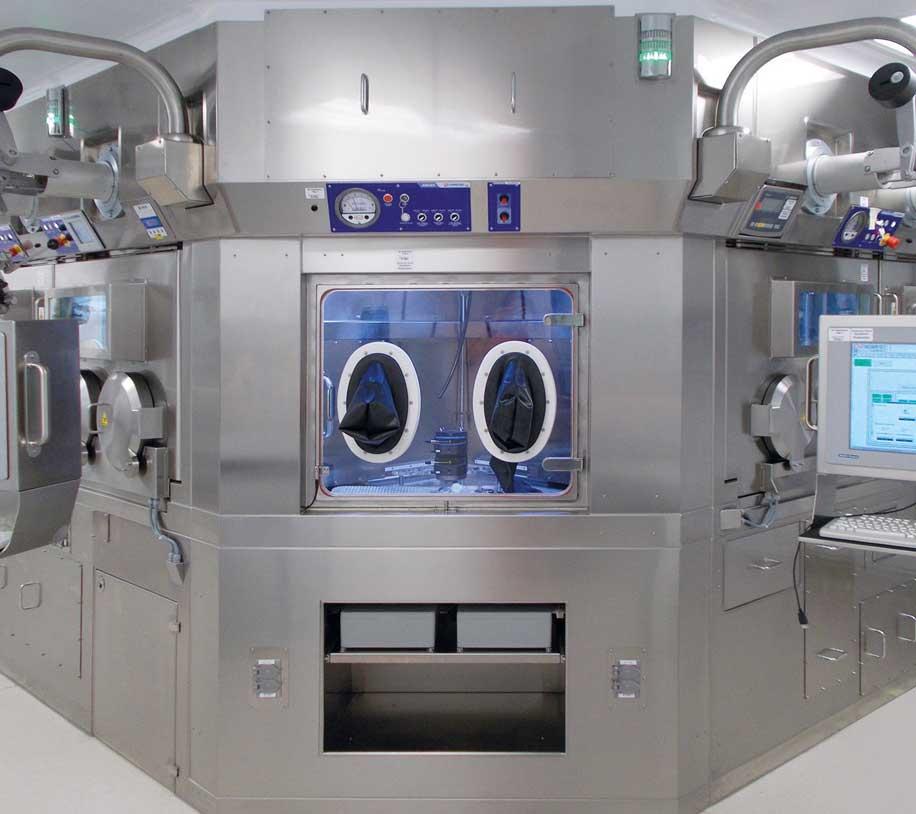 Automated Ioflupane I-123 Injection dispensing plant