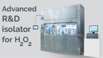 Advanced R&D isolator for H2O2