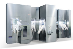 Aseptic Filling Line for Vials and Syringes, fully integrated with Isolator or RABS