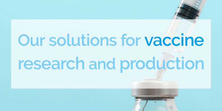 Banner for our isolation solutions for vaccine research and production