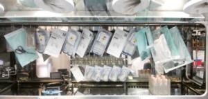 Modular Sterility Testing Isolator - material charging
