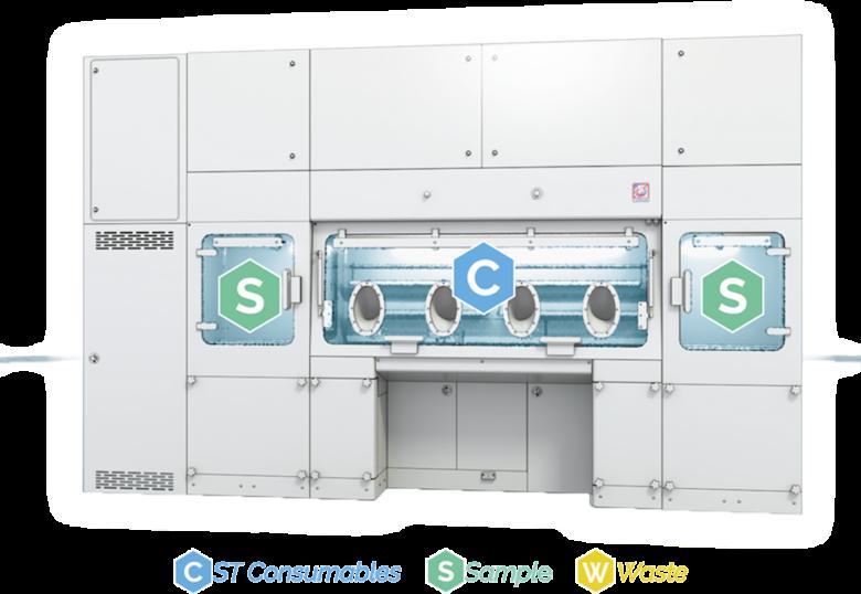 Modular Sterility Testing Isolator - Process cycle - 2 decontamination cycle