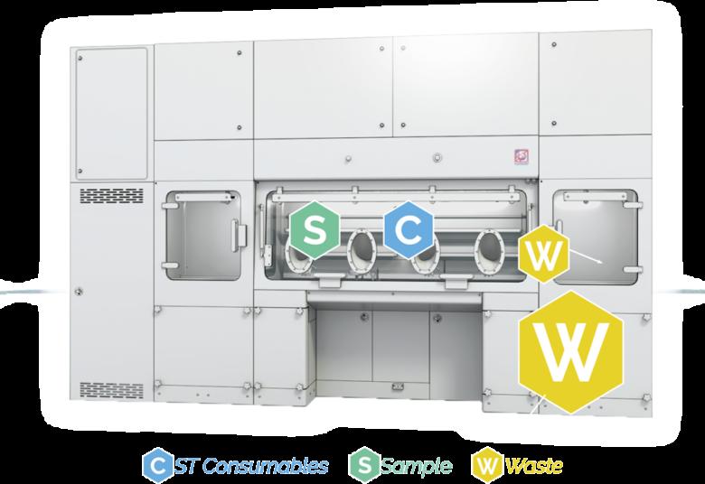 Modular Sterility Testing Isolator - Process cycle - 3 sterility testing