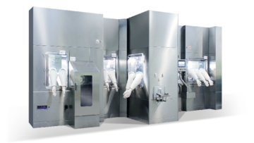 COMBO-PHILL Aseptic Filling Line for Vials and Syringes by Comecer