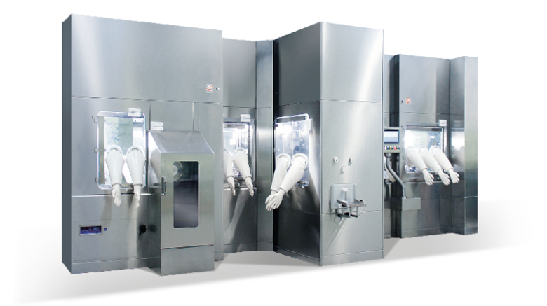 COMBO-PHILL Aseptic Filling Line for Vials and Syringes