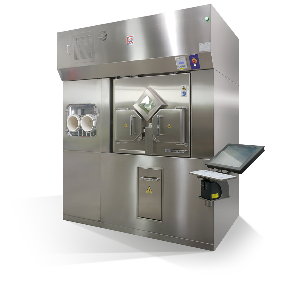 HELIOS - High-Throughput Aseptic Isolator for Vials and Syringes Filling