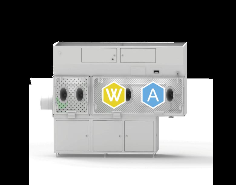 Transfer chamber washing - WIP&CIP