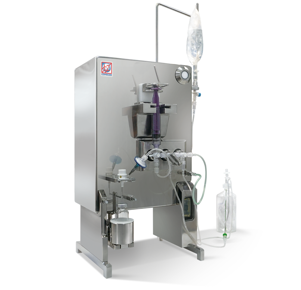 ARGO-T - Closed vials transseptal dispensing system